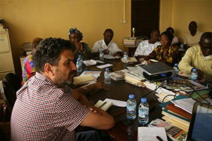 Ran meeting representatives of different schools and colleges in Liberia