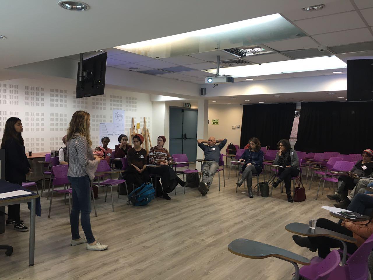 למידה באמצעות התמחות קהילה