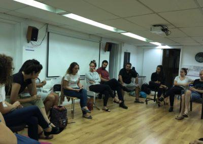 מפגש למידה מרתק של מחנכים ומחנכות דמוקרטיים בנושא הדתה במערכת החינוך
